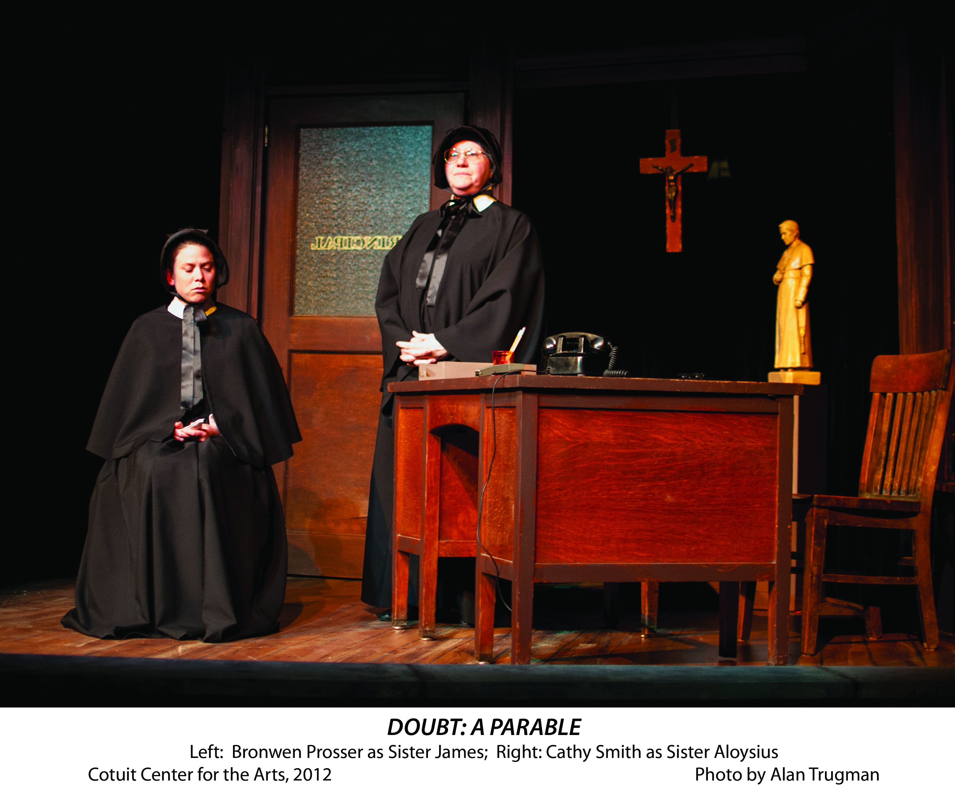 doubt a parable Doubt, a parable 148 likes doubt, a parable by john patrick shanley is one of the most acclaimed plays in recent memory winning 4 tony awards.