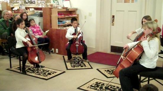Chappy Cellists