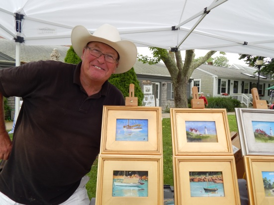 Forrest Pirovano Falmouth Art Market