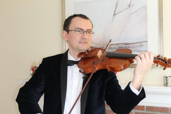Dan Flonta With Violin