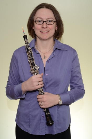 Melanie With Oboe