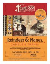 "Cape Cod Concert Band presents ""Reindeer & Planes, Camels & Trains"""